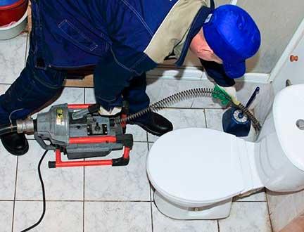 Устранение засоров домашней канализации
