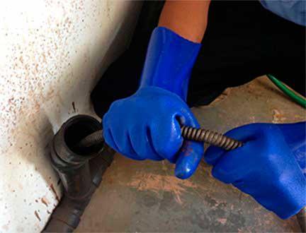 Чистка канализации механическими средствами