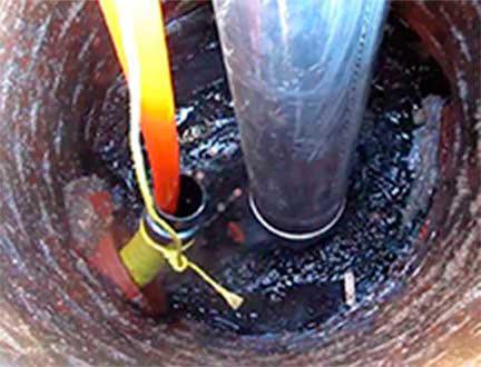 Очистка и чистка труб канализационных систем